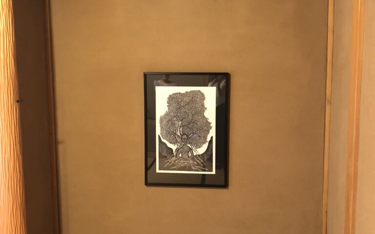 Gond Art in Japanese House – Residence of Ms. S.H.