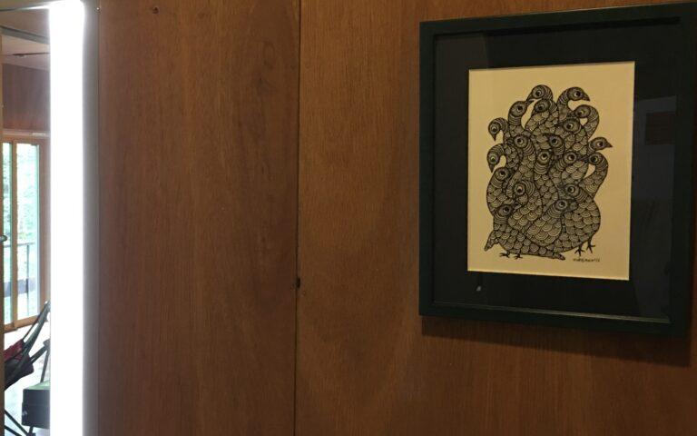 Gond Art in Japanese House – Residence of Ms. N.T.