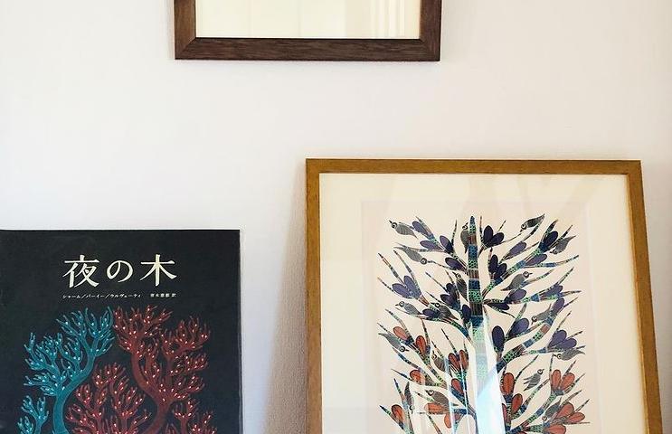 Gond Art in Japanese House – Residence of Ms. M.O.