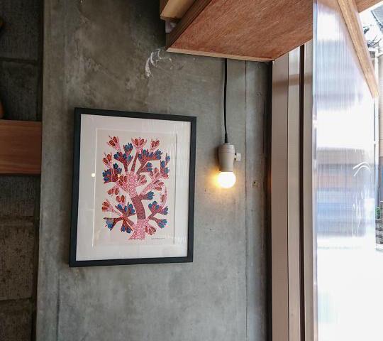 Gond Art in Japanese House – Senkawa / Teashop Parvati – Extra edition / Cafe
