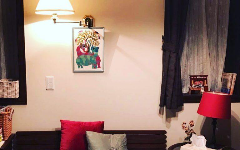 【ゴンド画を飾ったお部屋】C.M.様邸